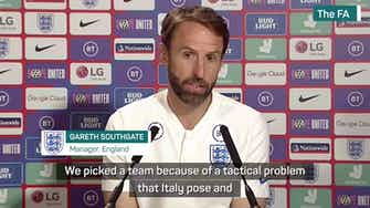 Preview image for Southgate's final thoughts on Wembley heartbreak