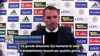 """Anteprima immagine per Rodgers e la beffa: """"Brucia, ma abbiamo fatto una grande stagione"""""""