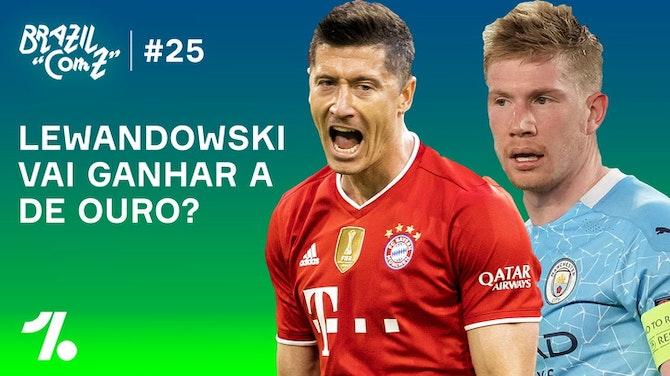 Lewandowski é favorito pra Bola de Ouro?