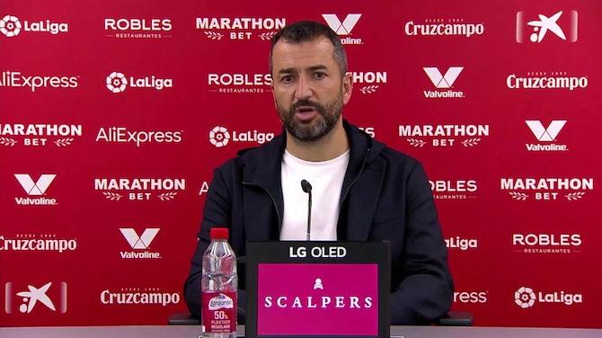 """Diego Martínez, en titulares: """"Me gustaría que el Sevilla lo consiguiese"""""""