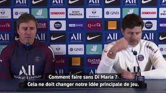 Image d'aperçu pour Coupe de France - Pochettino, l'essentiel de la conf'
