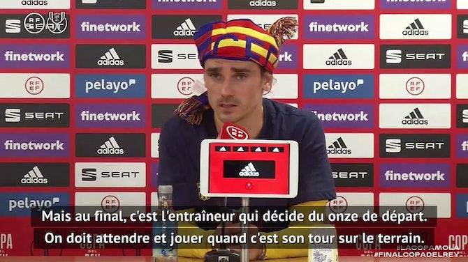 """Finale - Griezmann : """"De la confiance pour la suite"""""""