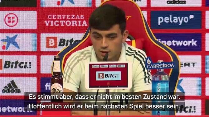 """Pedri: """"Haben nicht wegen Rasen 0:0 gespielt"""""""