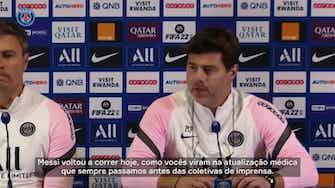 Imagem de visualização para Pochettino atualiza sobre Messi e espera avaliação para duelo contra o City