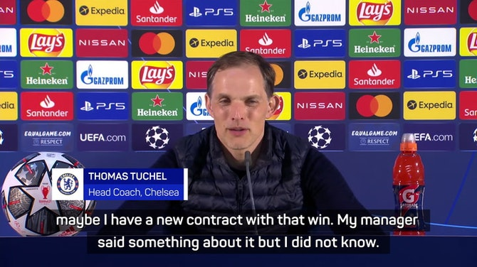 Preview image for Maybe I have a new contract after winning Champions League - Tuchel