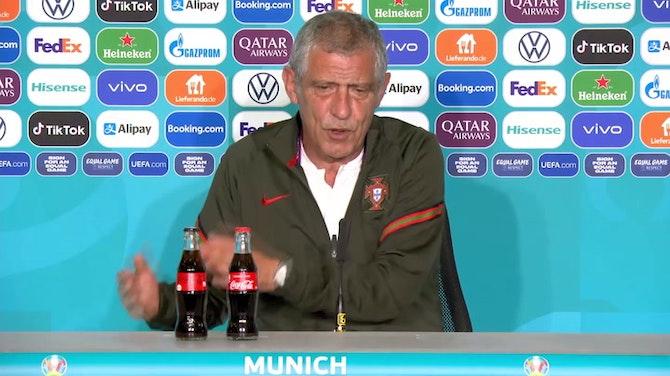 """Santos: """"Habe keine Angst vor Deutschland"""""""