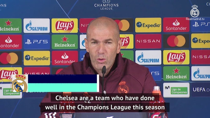 Real not underestimating Chelsea threat in semi-final clash