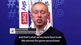 Preview image for 'Started the game second best' - Steve Cooper