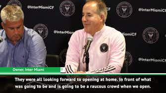 Preview image for Inter Miami forced to wait for home opener