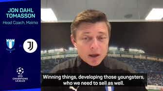 Preview image for  Malmo coach Tomasson ready for 'football heaven' in Champions League