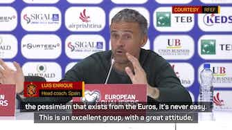 Preview image for Enrique lauds pessimism-proof Spain after Kosovo win