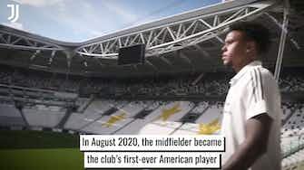 Vorschaubild für Weston McKennie and his debut season at Juventus