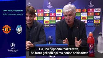 """Anteprima immagine per Gasperini: """"Ronaldo? Straordinario, non lo scopro certo io..."""""""