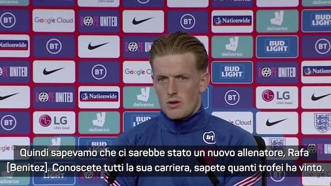 """Anteprima immagine per Pickford su Ancelotti: """"Difficile rifiutare la panchina del Real. Su Benitez..."""""""