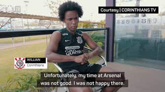 Preview image for I was unhappy at Arsenal, easy decision to return home - Willian