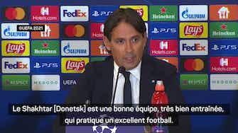 """Image d'aperçu pour Groupe D - Inzaghi : """"Un match très important mais pas décisif contre le Shakhtar"""""""