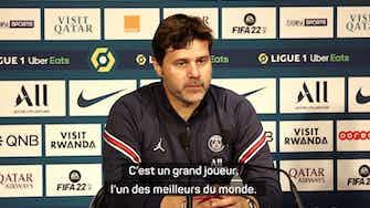 """Image d'aperçu pour 10e j. - Pochettino : """"Mbappé est un grand joueur, l'un des meilleurs au monde"""""""