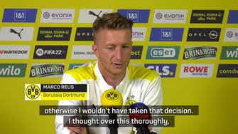 Preview image for No regrets on Euro 2020 withdrawal for Reus