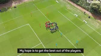 Preview image for Vieira promises attacking philosophy at Palace