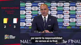 """Imagen de vista previa para Roberto Martínez: """"Sentimos un exceso de responsabilidad"""""""