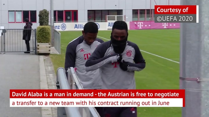 David Alaba - chased by Europe's elite