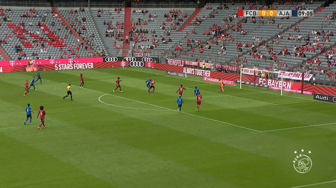 Preview image for Labyad helps Ajax draw with FC Bayern in pre-season