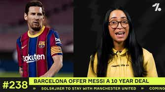 Preview image for Barcelona offer Messi a HUGE NEW DEAL!