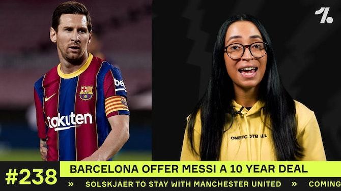 Barcelona offer Messi a HUGE NEW DEAL!