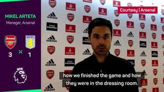 Preview image for Arteta demands no more 'excuses' after dominant Arsenal win