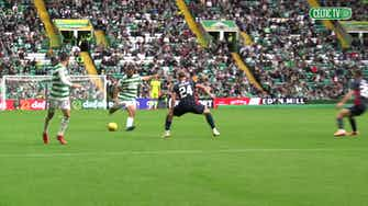 Preview image for Pitchside view: Cameron Carter Vickers' debut goal for Celtic