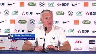 """Image d'aperçu pour Bleus - Deschamps : """"Un attaquant est là pour marquer, faire marquer"""""""