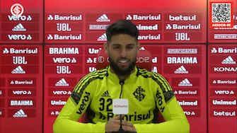 Imagem de visualização para Yuri Alberto comenta sobre boa fase vivida com a camisa do Inter
