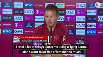 Preview image for Nagelsmann disputes 'lying baron' claims ahead of Leipzig reunion