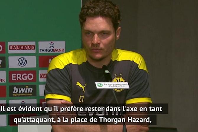 """Finale - Terzic : """"Nous pouvons marquer sans Haaland"""""""