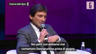 """Anteprima immagine per Leonardo: """"Donnarumma non sarebbe rimasto al Milan"""""""