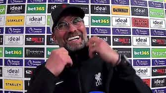 Preview image for If Olivier Giroud scores a goal like this everybody would say it's world class! Klopp reacts to Alisson wonder goal