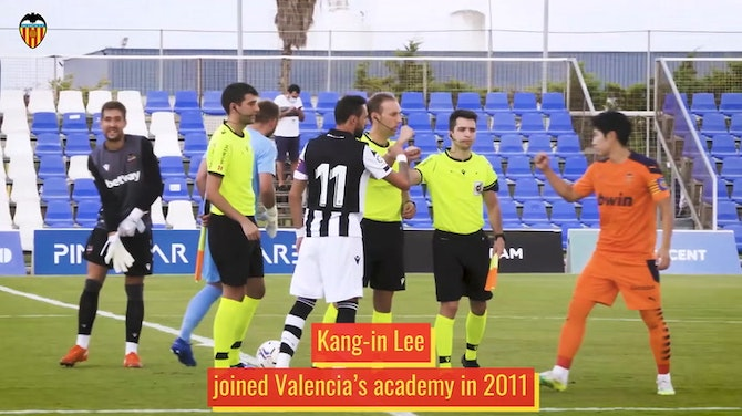 Preview image for Kang-in Lee's rise through Valencia's academy