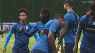 Preview image for Eberechi Eze returns to Palace training