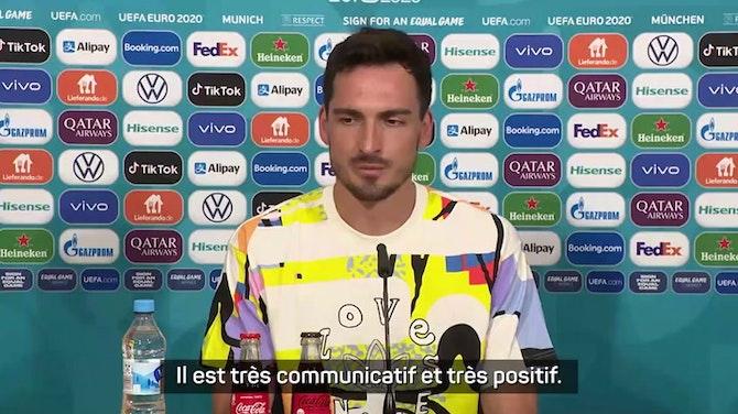 """Image d'aperçu pour Groupe F - Hummels : """"Les qualités de Müller nous manqueront"""""""