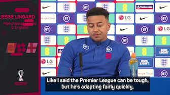 Preview image for Sancho will succeed with United - Lingard