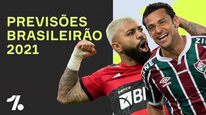 Imagem de visualização para PREVISÕES do ONEFOOTBALL pro Brasileirão 2021!