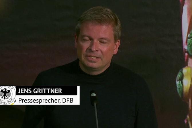 Grittner: Kein DFB-Offizieller überreicht Pokal
