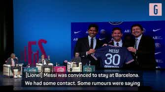 Preview image for Messi transfer 'a surprise for everybody' - PSG's Leonardo