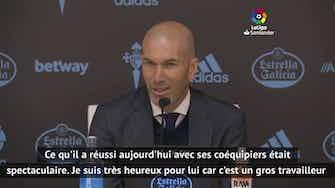 """Image d'aperçu pour 28e j. - Zidane """"ne comprend pas"""" pourquoi Benzema n'est pas appelé chez les Bleus"""