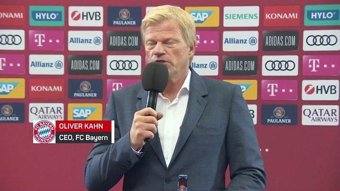 """Vorschaubild für Kahn zu Nagelsmann: """"Erfolg muss schnell kommen"""""""