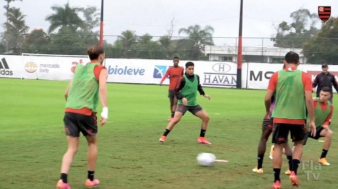 Rogerio Ceni is back to training at Ninho do Urubu