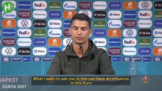 Cristiano Ronaldo on a possible move to Man United or PSG