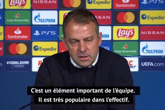 """Quarts - Flick : """"Très heureux d'avoir Choupo-Moting au club"""""""
