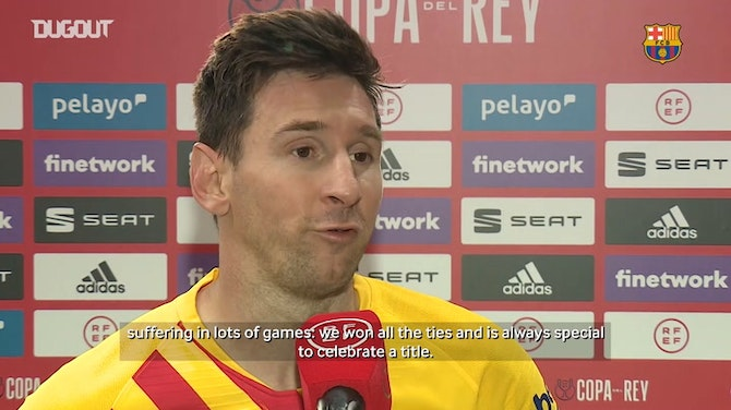 Preview image for Leo Messi: 'It's really special being the captain of the club where I've been playing all my life'