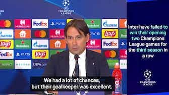 Preview image for Inzaghi frustrated after Inter draw at Shakhtar